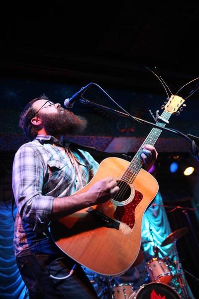 Josh Daniel of The New Familiars at the Visulite Theatre on Nov. 26.