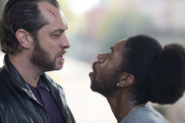 Jude Law and Jumayn Hunter in Dom Hemingway (Photo: Fox)
