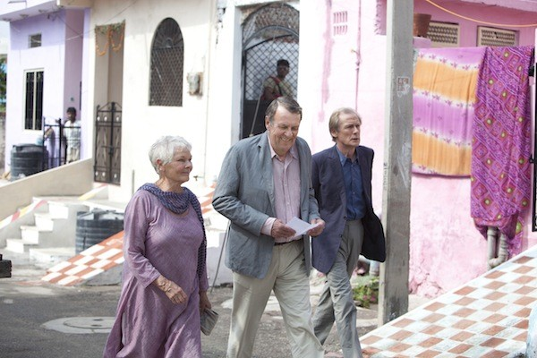 Judi Dench, Tom Wilkinson and Bill Nighy in The Best Exotic Marigold Hotel (Fox Searchlight)