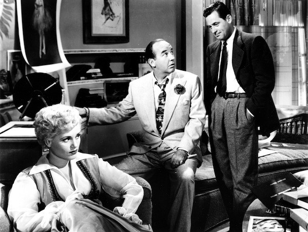 Judy Holliday, Broderick Crawford and William Holden in Born Yesterday (Photo: Twilight Time)