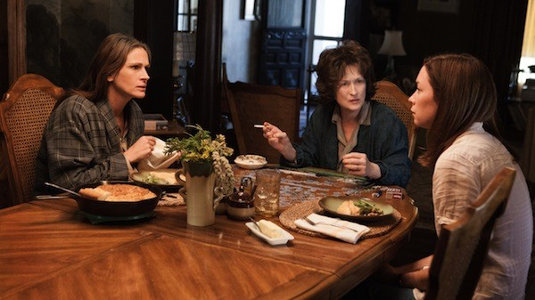 Julia Roberts, Meryl Streep and Julianne Nicholson in August: Osage County. (Photo: The Weinstein Company)