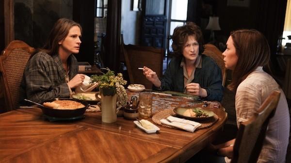 Julia Roberts, Meryl Streep and Julianne Nicholson in August: Osage County. (Photo: The Weinstein Company)