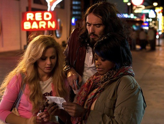 Julianne Hough, Russell Brand and Octavia Spencer in Paradise. (Photo: RLJ/Image Entertainment)
