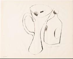 Julius Bissier, Vessel, 1964, lithograph on paper © 2013 Artists Rights Society (ARS), New York/VG Bild-Kunst, Bonn