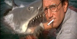 © 1975 UNIVERSAL PICTURES - July at Ballantyne Village Theater comes to a close with the movie that almost ruined beach vacations forever, JAWS, July 28-30