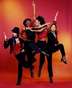 COURTESY CAROLINE CALOUCHE - JUMP FOR JOY: Chuck Davis African American Dance Ensemble with Alpha Omega Company