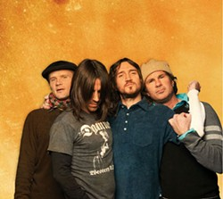 COURTESY LIVE NATION - JUST SIMMERING Red Hot Chili Peppers