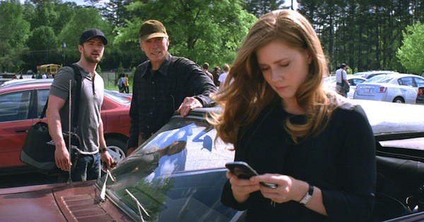 Justin Timberlake, Clint Eastwood and Amy Adams in Trouble with the Curve (Photo: Warner Bros.)