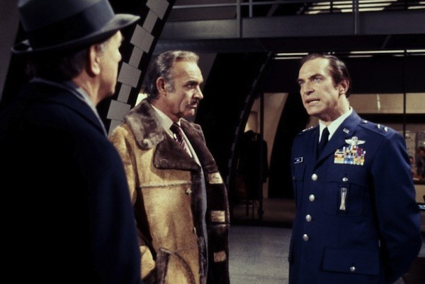 Karl Malden, Sean Connery and Martin Landau in Meteor (Photo: Kino)