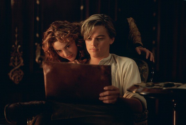 Kate Winslet and Leonardo DiCaprio in Titanic (Photo: Paramount)