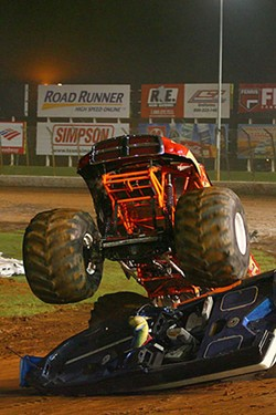 DAVID GRIFFIN - KEEP TRUCKIN': Circle K Monster Truck Bash at Lowes Motor Speedway