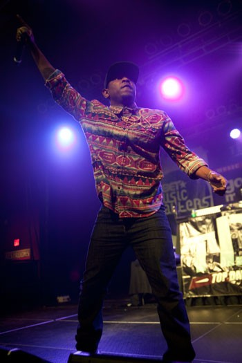 """Kendrick Lamar (above) has landed at the top of numerous """"Best of 2012"""" album lists, but he was nearly upstaged by J. Cole at The Fillmore on Sept. 11, 2012."""