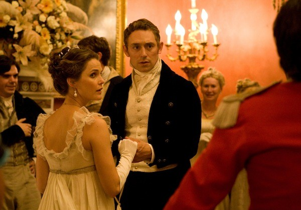 Keri Russell and JJ Feild in Austenland (Photo: Sony Pictures Classics)