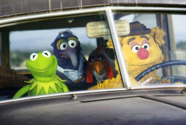 Kermit, Gonzo and Fozzie in The Muppet Movie (Photo: Disney)