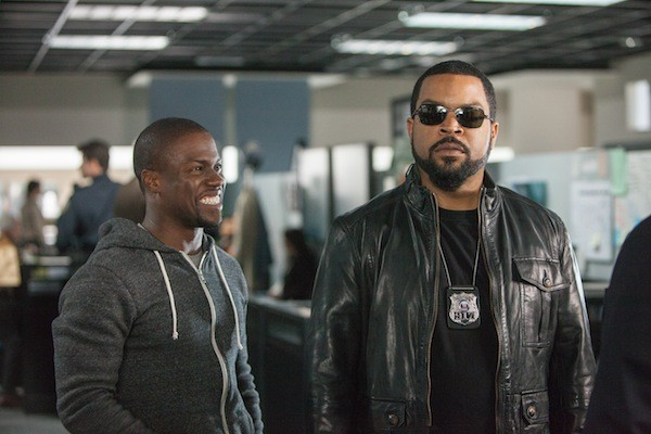 Kevin Hart and Ice Cube in Ride Along (Photo: Universal)