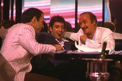 UNIVERSAL - KILLER HIGH LIFE: F. Murray Abraham, Al Pacino and Robert Loggia in Scarface