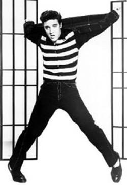 KING OF ROCK Elvis Presley in Jailhouse - Rock