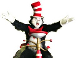 UNIVERSAL & DREAMWORKS - KITTY  LITTER  Mike Myers as The Cat In the - Hat