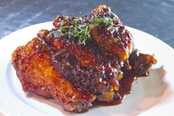 ANGUS LAMOND - Korean spiced chicken wings