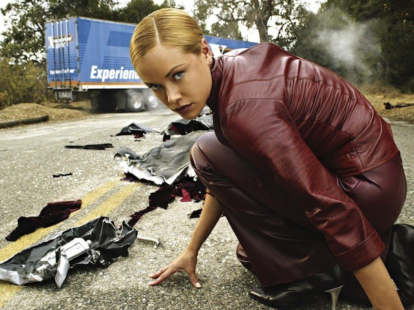 Kristanna Loken in Terminator 3: Rise of the Machines (Photo: Warner Bros.)