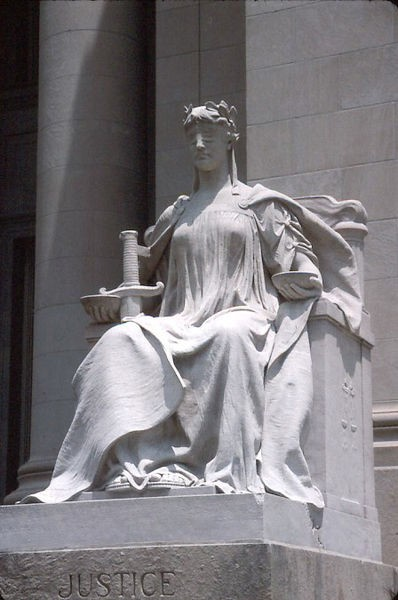 Lady Justice was not served on Wednesday.