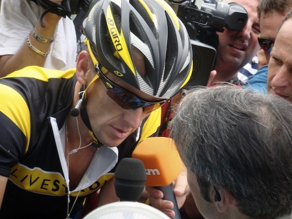 Lance Armstrong in The Armstrong Lie (Photo: Sony Pictures Classics)