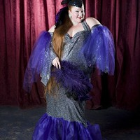 LARGER THAN LIFE: Charlotte-based burlesque queen Big Mamma D