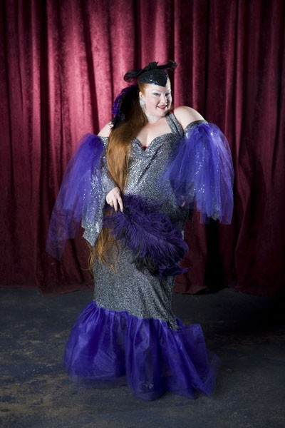 LARGER THAN LIFE: Charlotte-based burlesque queen Big Mamma D - ANGUS LAMOND