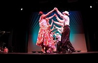 Latin dance show represents many cultures