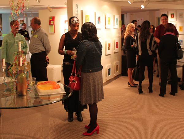 Latinos and others throw a Twitterific social media party at Gil Gallery