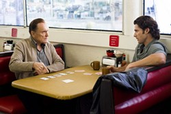 MERIE W. WALLACE / WARNER BROS. & VILLAGE ROADSHOW - LAYING THEIR CARDS ON THE TABLE L.C. Cheever (Robert Duvall) and his son Huck (Eric Bana) deal with the hand that life has dealt them in Lucky You