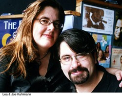 CHRIS RADOK - Lea (left) and Joe from the Evening Muse