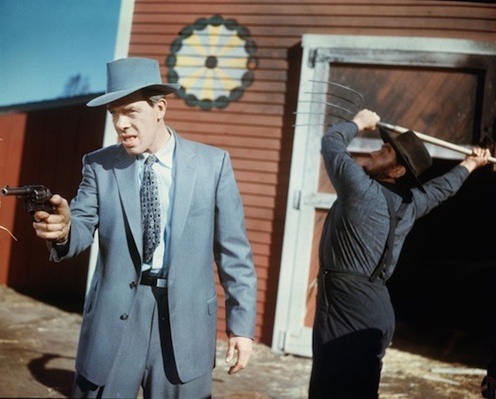 Lee Marvin and Ernest Borgnine in Violent Saturday (Photo: Twilight Time)