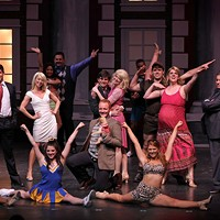 Legally Blonde — A Musical: An ocean of pink at CPCC