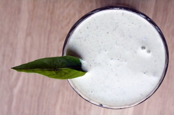 Lemon Basil Smoothie
