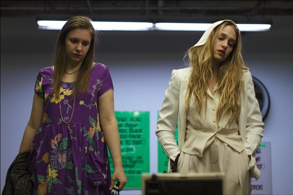 Lena Dunham and Jemima Kirke in Tiny Furniture (Photo credit: IFC)