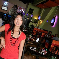 Lian Gabriel of the Pho Real Restaurant and Bar on E. McCullough Drive