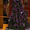 Lighting of the domestic violence holiday tree