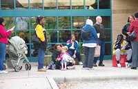 Early voting in Mecklenburg County