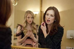 SONY PICTURES CLASSICS - LIP SERVICE: Amanda Seyfried and Julianne Moore in Chloe.