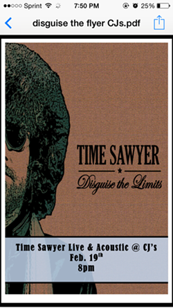 TIME SAWYER