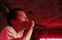 Live review: Adam WarRock, The Milestone, 5-25-2012