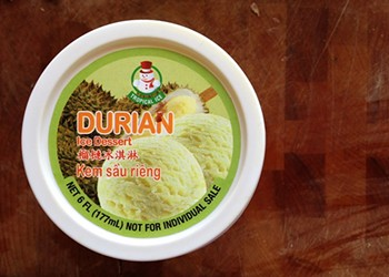 Local Discovery: Durian Ice Cream