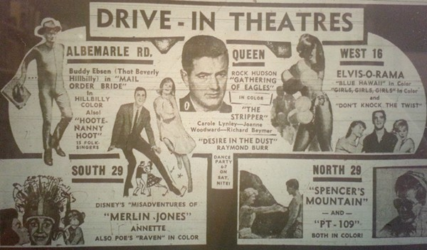Local drive-In theaters were showing movies with Rock Hudson and Elvis Presley on May 11, 1964.