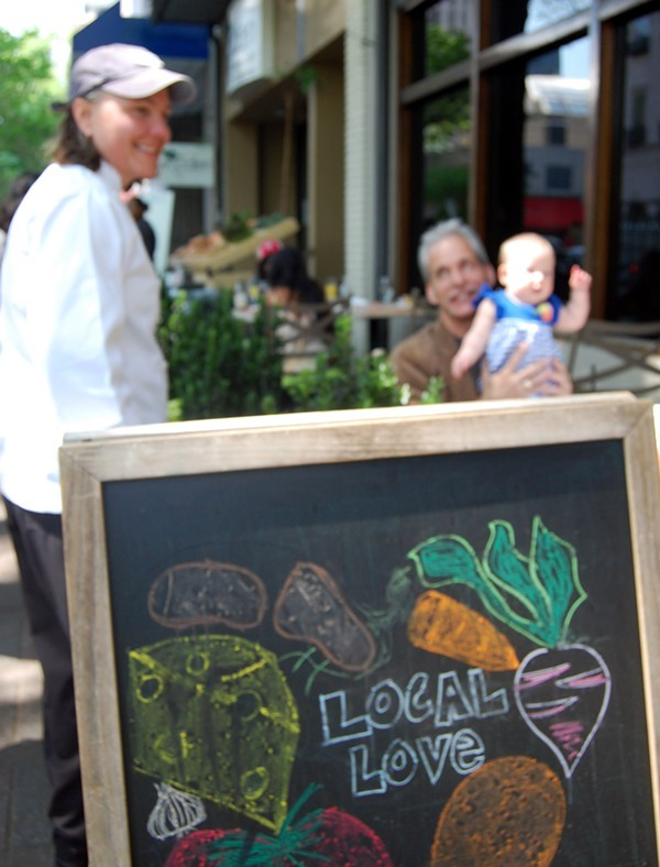 Local foods is the bread and butter at Harvest Moon Grille