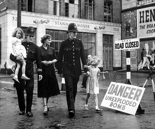 London during the Blitz