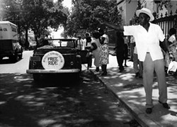 LONG WALK: The documentary Signpost to Freedom: The 1953 Baton Rouge Bus Boycott, produced by Louisiana Public Television, tells the little-known story of the eight-day boycott of the bus system by the African-American citizens of Baton Rouge, La. - KENTUCKY EDUCATIONAL TELEVISION