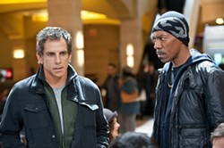 UNIVERSAL - LOOKING TO SCORE: Ben Stiller and Eddie Murphy in Tower Heist