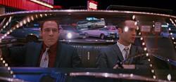 LIONSGATE & MIRAMAX - LOOKING TO SCORE: Jon Favreau and Vince Vaughn in Swingers