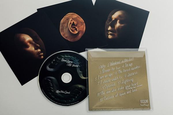 Love This Giant album packaging art